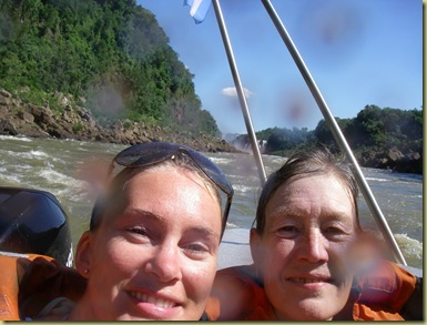 Iguazu Anna y Ingelin