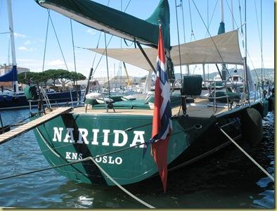 St Tropez - Norwegian Boat