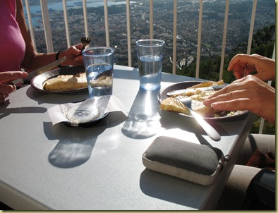 Toulon from Mount Farron Toulon Meal