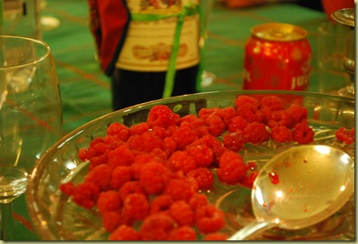 Rasberries - from Summer Garden