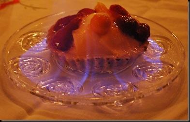 Et godt år - flambert dessert
