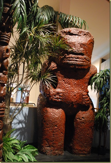 Kontiki Museum - Sculpture