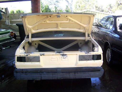 Rust Repair In an Old Car
