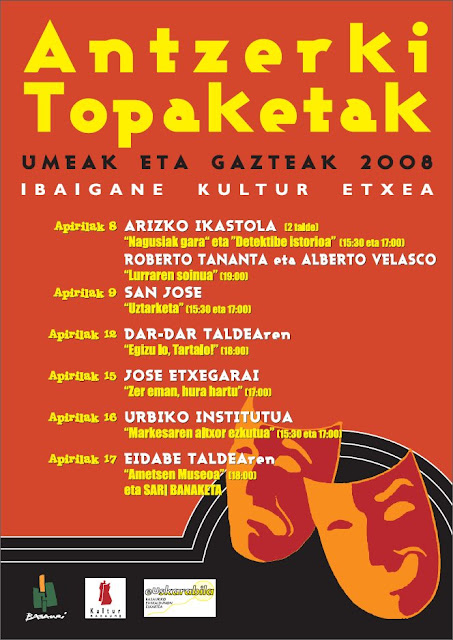 Antzerki topaketak 2008