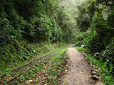 The line to Aguas Calientes