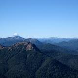 Volcan Lanin, from Cerro Faulkner