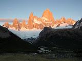 Cerro Fitz-Roy, First Sun