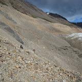 Seriously treacherous rock slopes