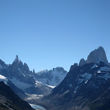 Cerro Torre and Fitz-Roy from the lookout