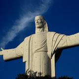 The big Jesus of Cochabamba
