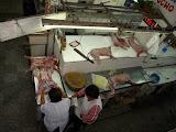 Having breakfast in the Market