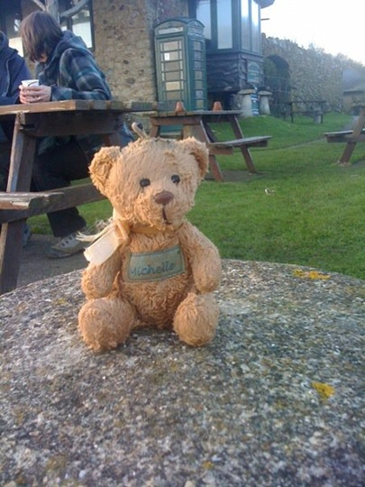 branscombe beach bear