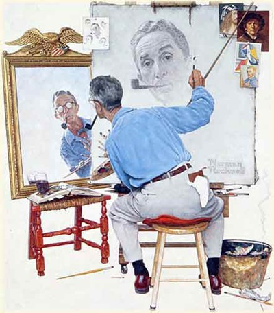 Norman_Rockwell_Self-portrait