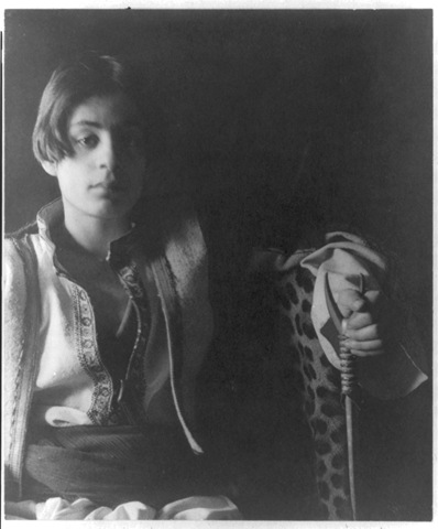 Khalil Gibran, age 15
