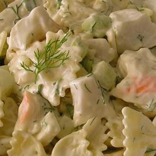 Creamy Dill Prawn And Pasta Salad