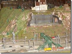 plastico treni scala N 008 castello