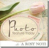 Photo Feature Friday a rosy note