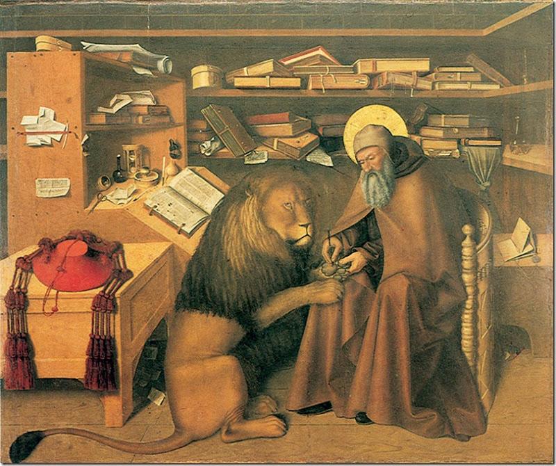 Colantonio_San Jerónimo en su estudio.