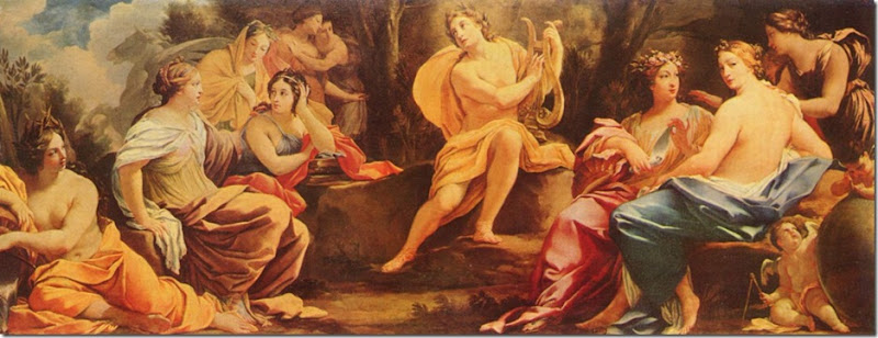 VOUET APOLO Y LAS MUSAS 1640 BUDAPEST