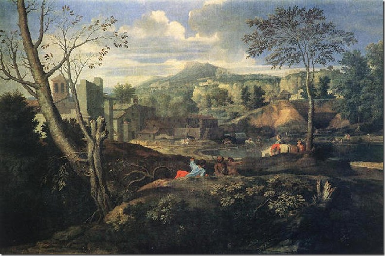 POUSSIN PAISAJE IDEAL 1645-50