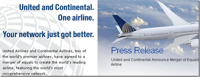 united airline_Continental airline