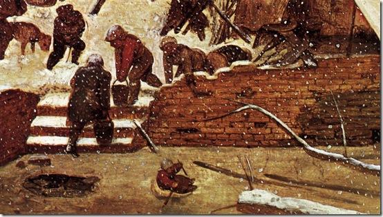 brueghel - adoracja trzech króli