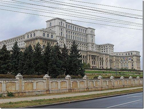bukareszt - pałac parlamentu