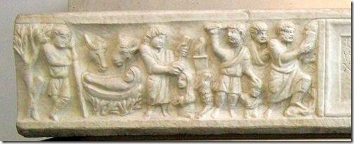 sarkofag marcusa claudianusa po 330 (fragment)