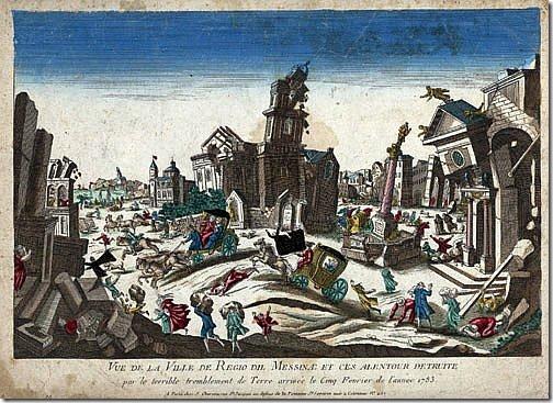 kalabria trzęsienie 1783