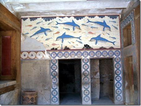 knossos - delfiny