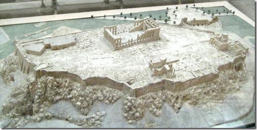 model akropolu