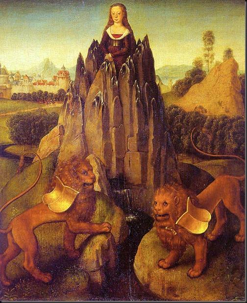 hans memling - czystość (ok. 1475)