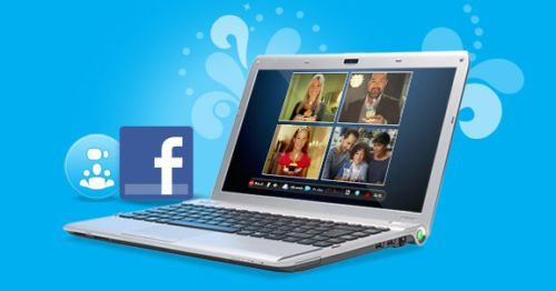 Skype 5.0 was released with integration Facebook