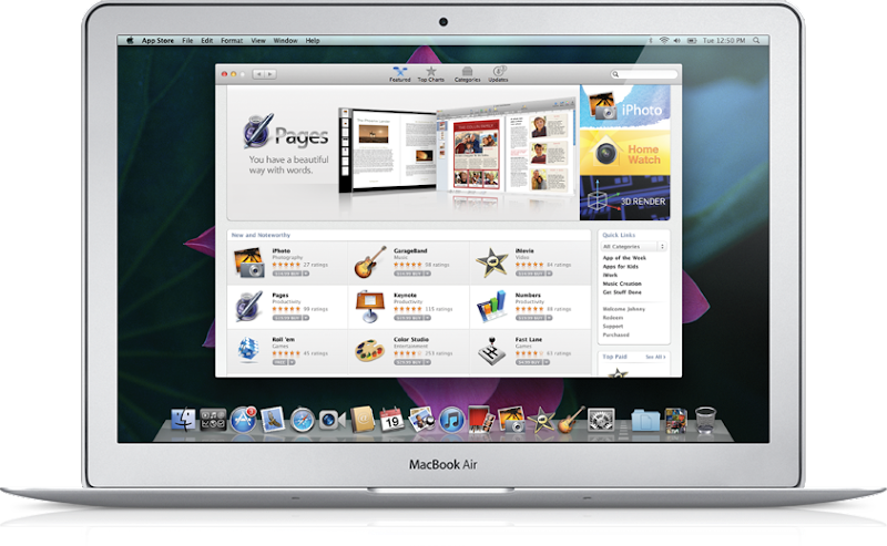 Latest Mac OS X Lion with a Mac App Store, Mission Control, Applications and Launchpad Full Screen