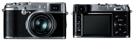 FujiFilm FinePix X100 Retro Style with Hybrid Viewfinder