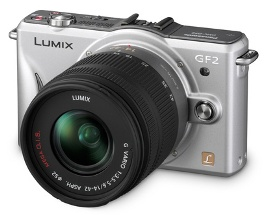Panasonic Lumix DMC-GF2, nan Slim Touchscreen Camera