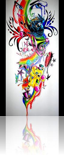 Tattoo Rainbow