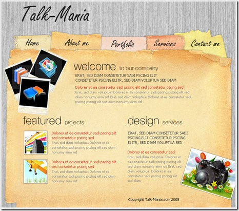 40 useful Photoshop web layout for designers