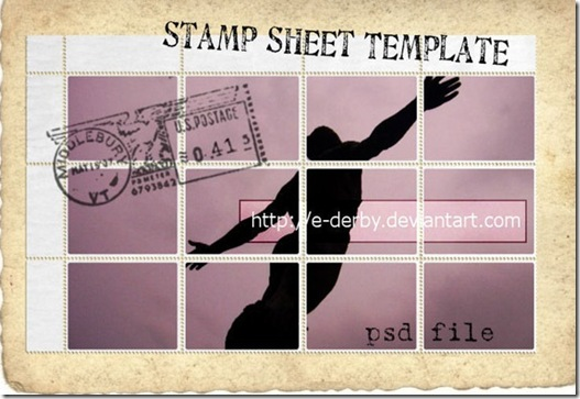 stamp-sheet-template