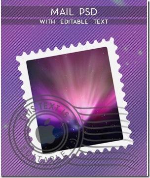 mail-psd-with-editable-text