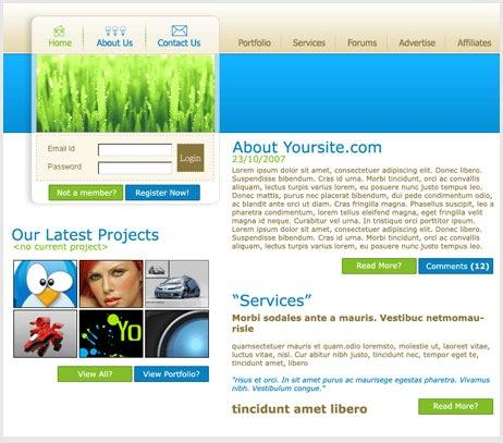 WebDesign Studio Layout