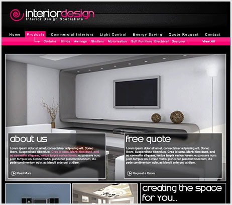 Interior Design Layout