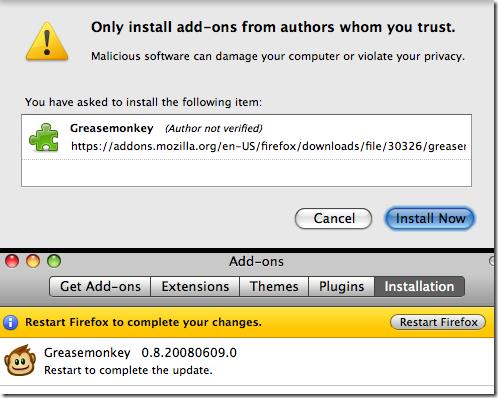Greasemonkey-install