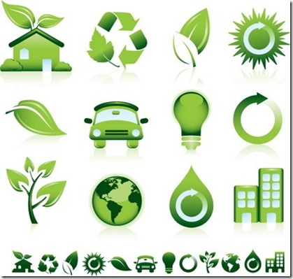 Green Eco-friendly Vector Icons_thumb[3]