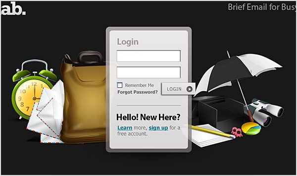 Great Designs of Login Page/Form  Seen On www.coolpicturegallery.us