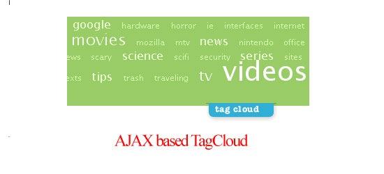 AJAX-based-TagCloud