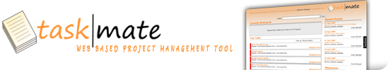 TaskMate Project Management tool