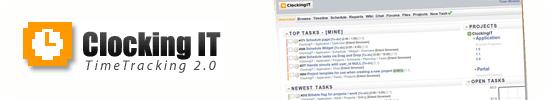 clockingIT-Time Tracking application