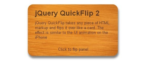 jquery-flip