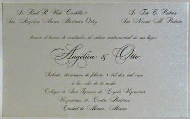 Foto O Convite De Casamento De Ang Lica Vale Televisa Brasil